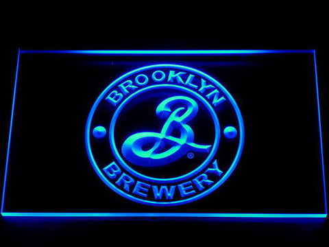 Brooklyn Brewery LED Neon Sign - Blue - SafeSpecial