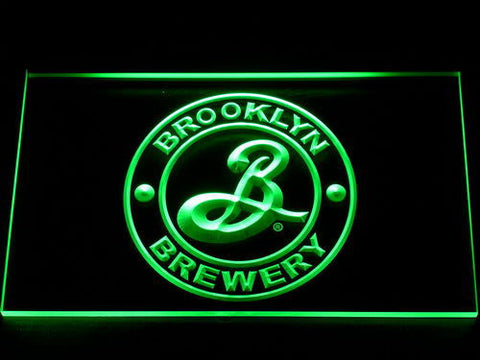 Brooklyn Brewery LED Neon Sign - Green - SafeSpecial