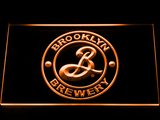 Brooklyn Brewery LED Neon Sign - Orange - SafeSpecial