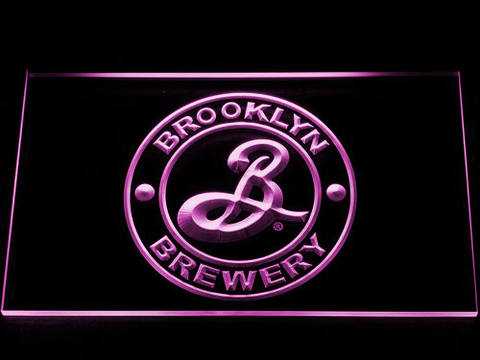Brooklyn Brewery LED Neon Sign - Purple - SafeSpecial