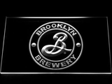 Brooklyn Brewery LED Neon Sign - White - SafeSpecial