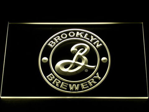 Brooklyn Brewery LED Neon Sign - Yellow - SafeSpecial