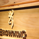 Browning Wooden Sign - - SafeSpecial