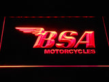 BSA Motorcycles LED Neon Sign - Red - SafeSpecial