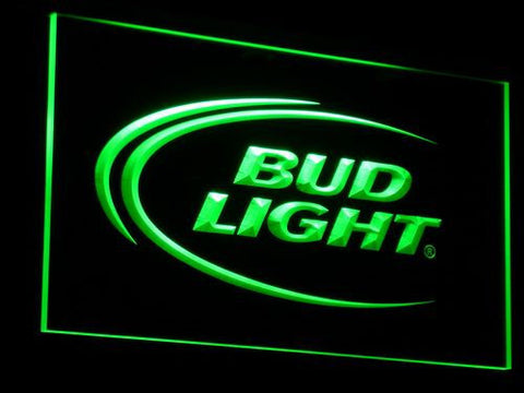 Bud Light LED Neon Sign - Green - SafeSpecial