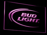 Bud Light LED Neon Sign - Purple - SafeSpecial
