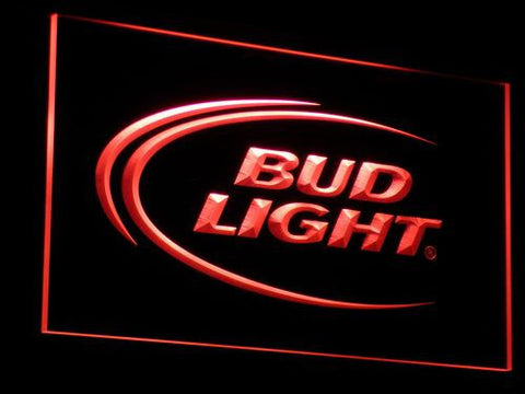 Bud Light LED Neon Sign - Red - SafeSpecial