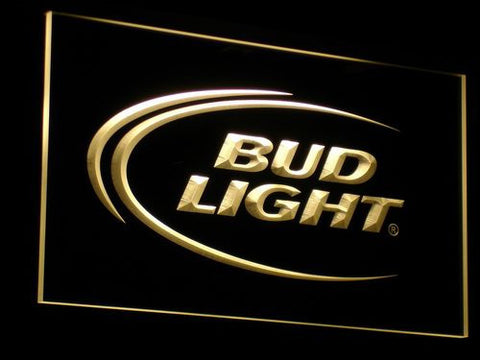 Bud Light LED Neon Sign - Yellow - SafeSpecial