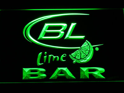 Bud Light Lime Bar LED Neon Sign - Green - SafeSpecial