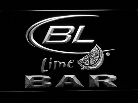 Image of Bud Light Lime Bar LED Neon Sign - White - SafeSpecial