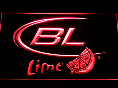 Bud Light Lime LED Neon Sign - Red - SafeSpecial