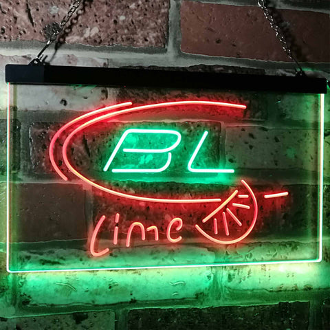 Bud Light Lime Neon-Like LED Sign - Dual Color - Green and Red - SafeSpecial