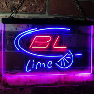 Bud Light Lime Neon-Like LED Sign - Dual Color
