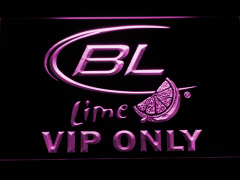 Bud Light Lime VIP Only LED Neon Sign - Purple - SafeSpecial