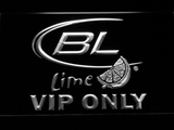 Bud Light Lime VIP Only LED Neon Sign - White - SafeSpecial