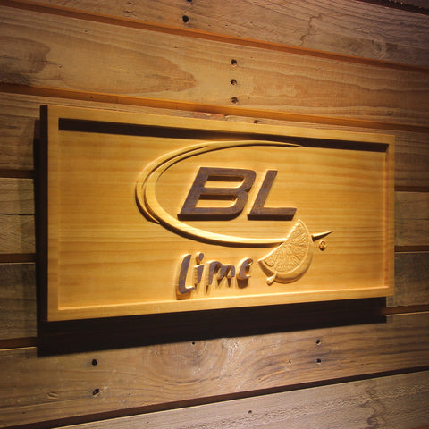 Bud Light Lime Wooden Sign - - SafeSpecial