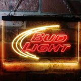 Bud Light Logo 1 Neon-Like LED Sign - Dual Color - Red and Yellow - SafeSpecial