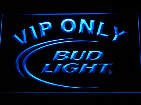Image of Bud Light VIP Only LED Neon Sign - Blue - SafeSpecial
