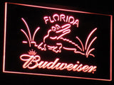 Budweiser Crocodile LED Neon Sign - Red - SafeSpecial