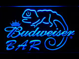Budweiser Lizard Bar LED Neon Sign - Blue - SafeSpecial