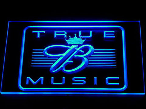 Budweiser True Music LED Neon Sign - Blue - SafeSpecial