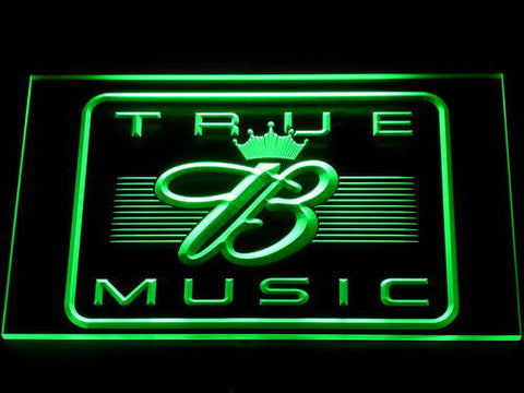 Budweiser True Music LED Neon Sign - Green - SafeSpecial