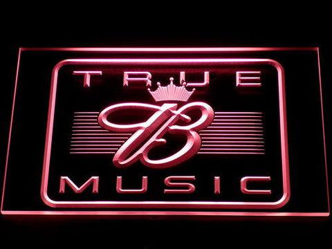 Budweiser True Music LED Neon Sign - Red - SafeSpecial