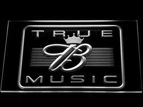 Budweiser True Music LED Neon Sign - White - SafeSpecial