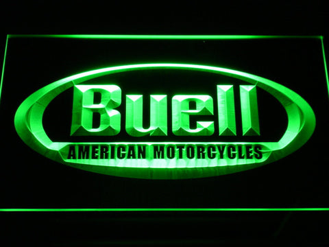 Buell LED Neon Sign - Green - SafeSpecial