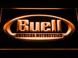 Buell LED Neon Sign - Orange - SafeSpecial