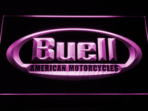 Buell LED Neon Sign - Purple - SafeSpecial