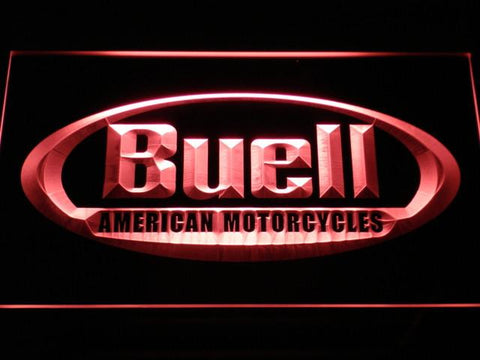 Buell LED Neon Sign - Red - SafeSpecial