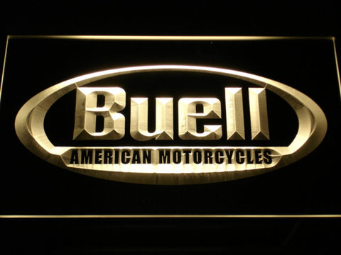 Buell LED Neon Sign - Yellow - SafeSpecial