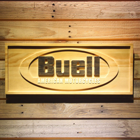 Buell Wooden Sign - Small - SafeSpecial