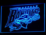 Buffalo Bandits LED Neon Sign - Blue - SafeSpecial