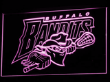 Buffalo Bandits LED Neon Sign - Purple - SafeSpecial