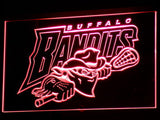 Buffalo Bandits LED Neon Sign - Red - SafeSpecial