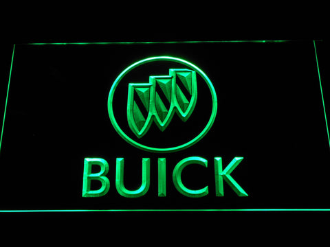 Image of Buick LED Neon Sign - Green - SafeSpecial