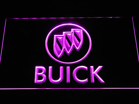 Image of Buick LED Neon Sign - Purple - SafeSpecial