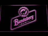 Bundaberg Rum LED Neon Sign - Purple - SafeSpecial