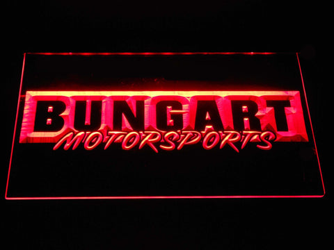 Bungart Motorsports LED Neon Sign - Red - SafeSpecial