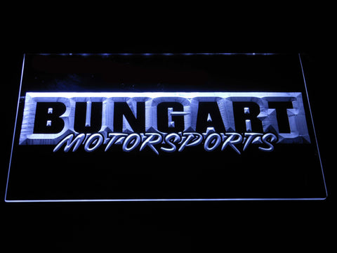 Bungart Motorsports LED Neon Sign - White - SafeSpecial