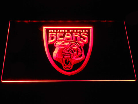 Image of Burleigh Bears LED Neon Sign - Red - SafeSpecial