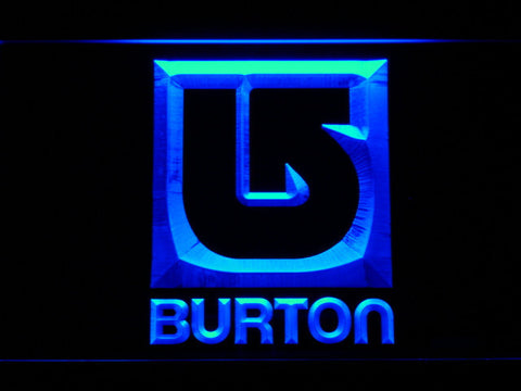 Burton LED Neon Sign - Blue - SafeSpecial
