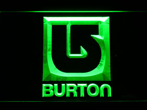Burton LED Neon Sign - Green - SafeSpecial