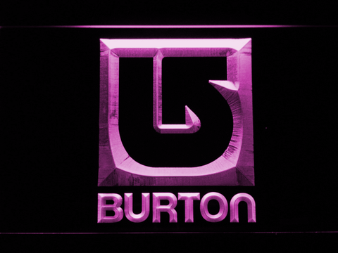 Burton LED Neon Sign - Purple - SafeSpecial