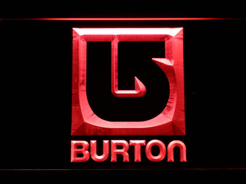 Burton LED Neon Sign - Red - SafeSpecial