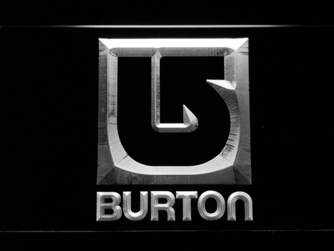 Burton LED Neon Sign - White - SafeSpecial