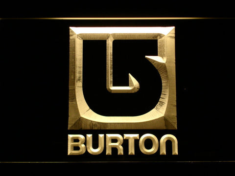 Burton LED Neon Sign - Yellow - SafeSpecial