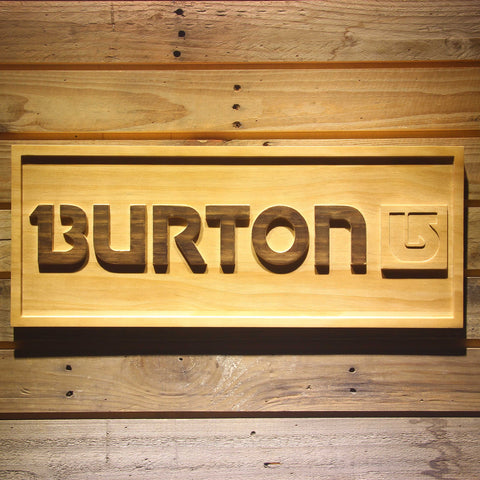 Burton Wooden Sign - Small - SafeSpecial